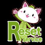 リセットサービスキャラクター猫