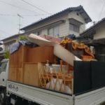 家一軒分の不用品回収