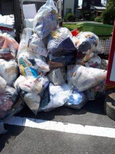 リセット案件、今治市、2トン2車の不用品回収