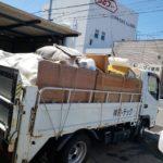 片付けに伴う不用品回収、未分別ゴミ大量(愛媛県松山市下伊台町)