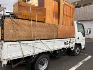 お部屋まるごと不用品処分(松山市柳井町)