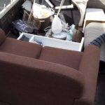 片付けの際のゴミ回収(松山市小栗)