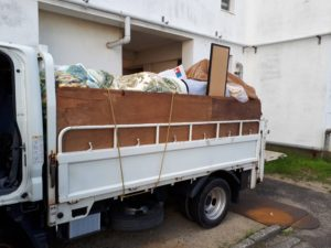 トラックパック2トンパック1車の不用品回収