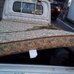 ゴミの処分とマットレスの処分(松山市辻町)