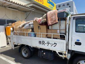 お家の片付けに伴う不用品回収【松山市河野中須賀】