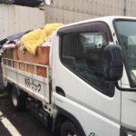 家屋解体に伴う不用品回収