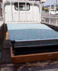 電動ベッドの回収【松山市西一万町】