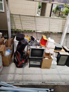 引っ越しに伴う不用品回収【東温市】