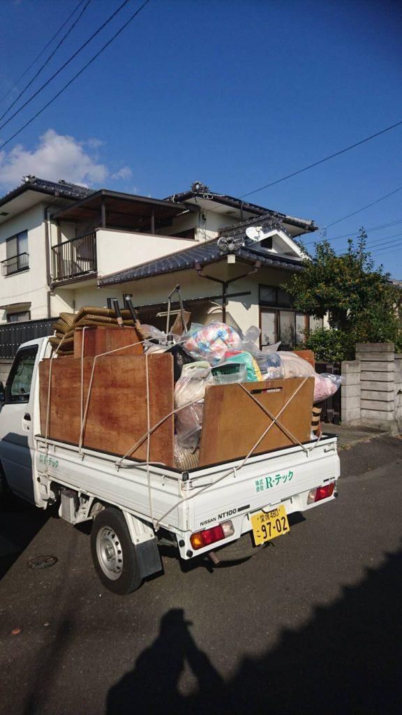 リピート7回目の不用品回収(愛媛県伊予郡松前町北黒田)