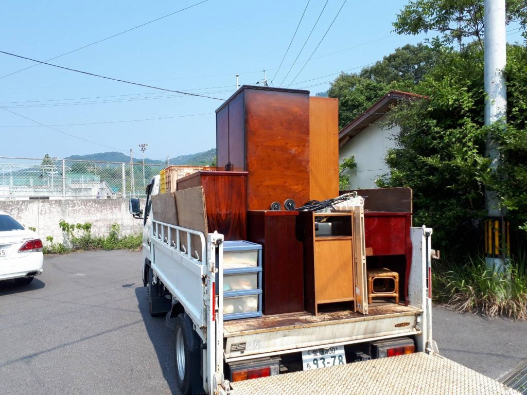 大三島、不用品回収、買取あり