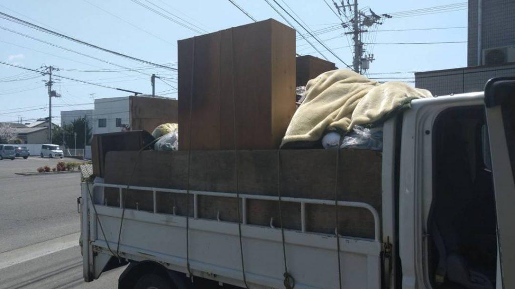 お家の片付けに伴う不用品回収