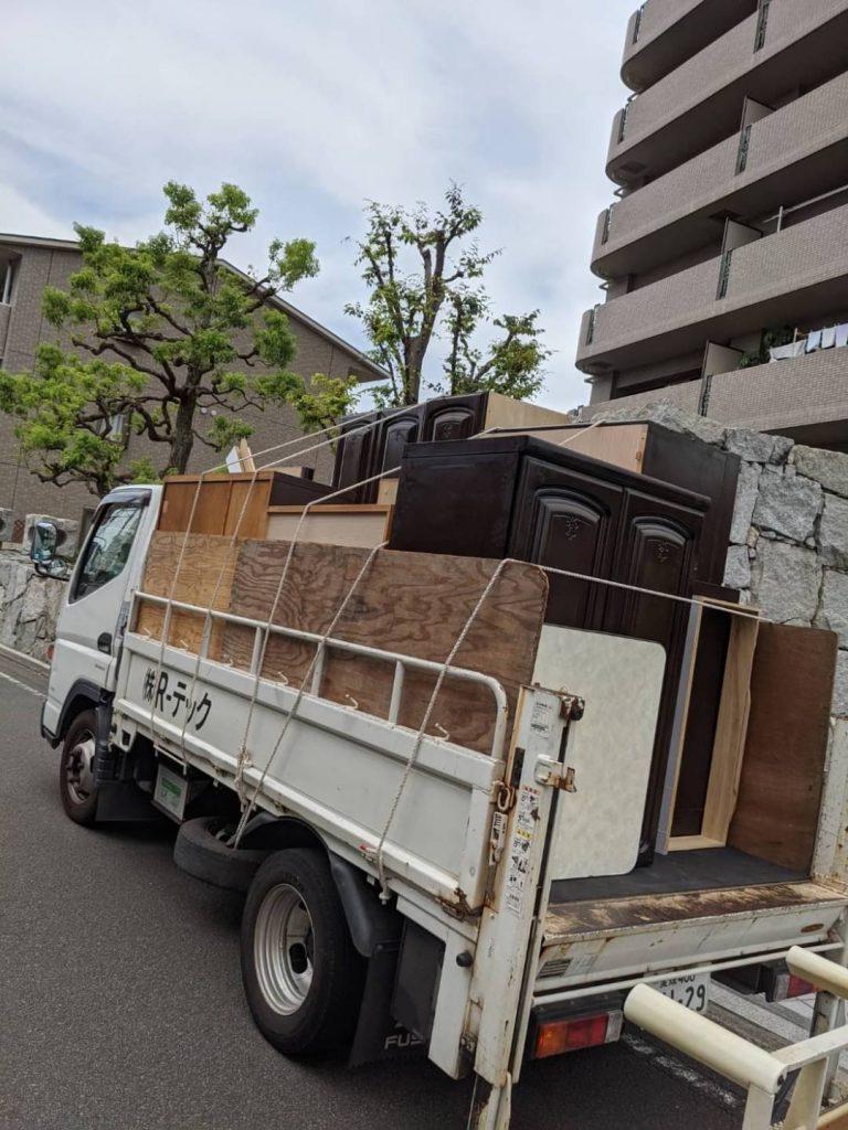 桑原、引っ越しに伴う不用品回収