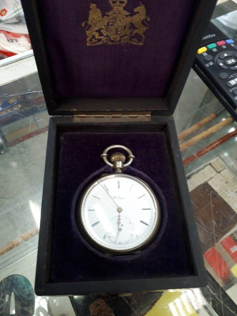 軽トラパックで不用品回収と懐中時計の買取