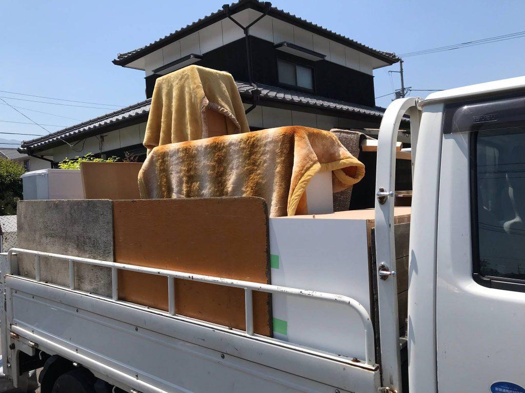 【引っ越し】不用品の回収、冷蔵庫、電子レンジ、洗濯機は買取(愛媛県新居浜市)