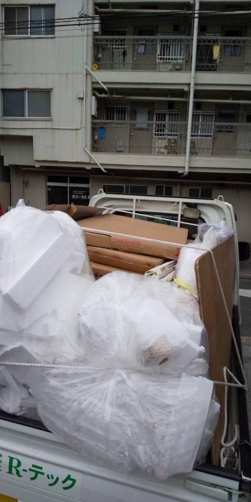 お家の片付けに伴う不用品回収【松山市清水】
