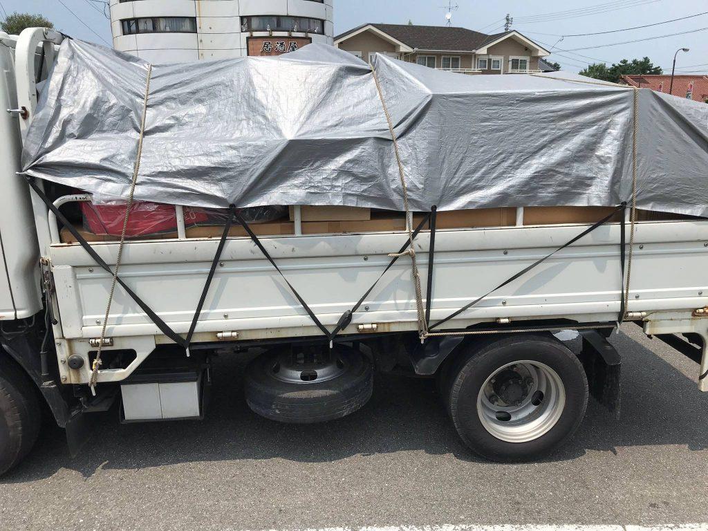 お家の片付けに伴う不用品回収と不用品買取(愛媛県新居浜市)