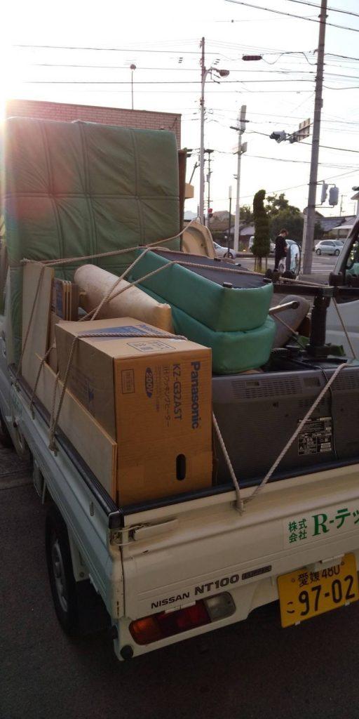 不用品回収とゴミの処分【松山市土手内】