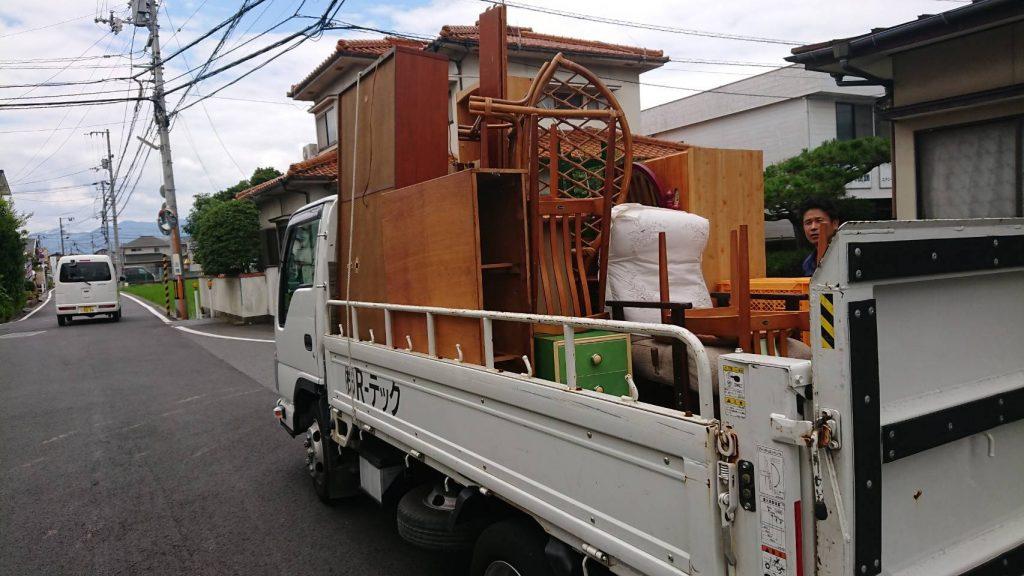 お家の片付けに伴う不用品回収(松山市北土居)