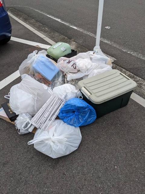 千舟町、片付けに伴う不用品回収