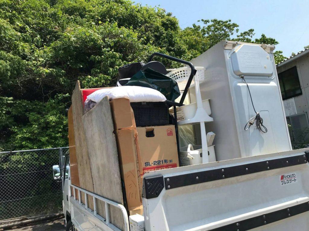 引越しに伴う不用品回収でTV、洗濯機、掃除機、高圧洗浄機等を買い取り(愛媛県四国中央市)