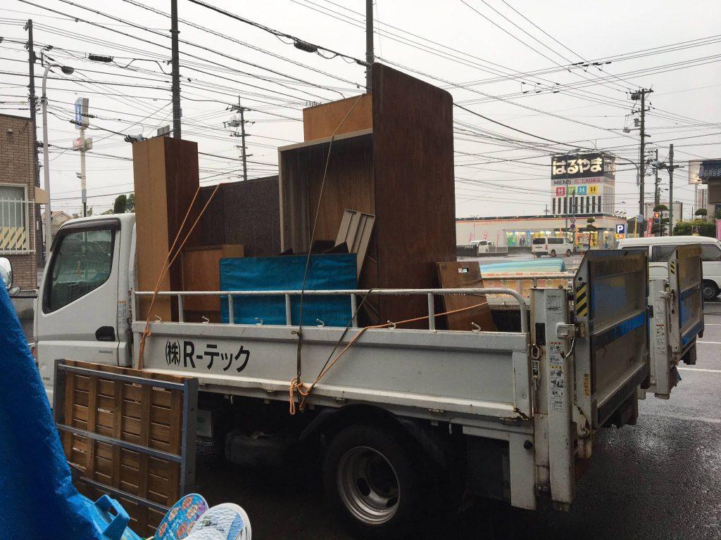 エアコンの処分と不用品回収(松山市志津川)