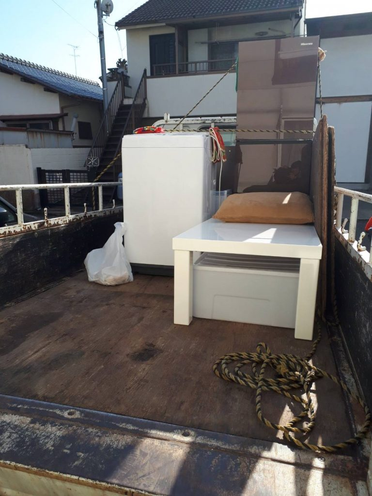 不用品回収と冷蔵庫、洗濯機の買取