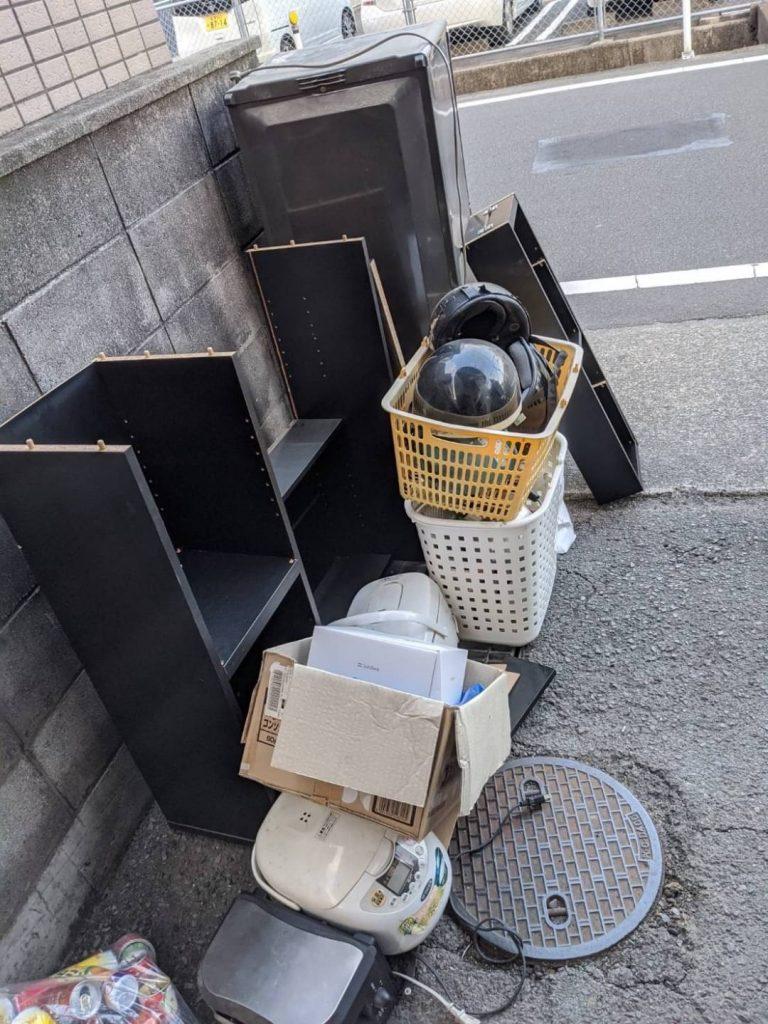 松山市朝生田、引っ越しに伴う不用品回収