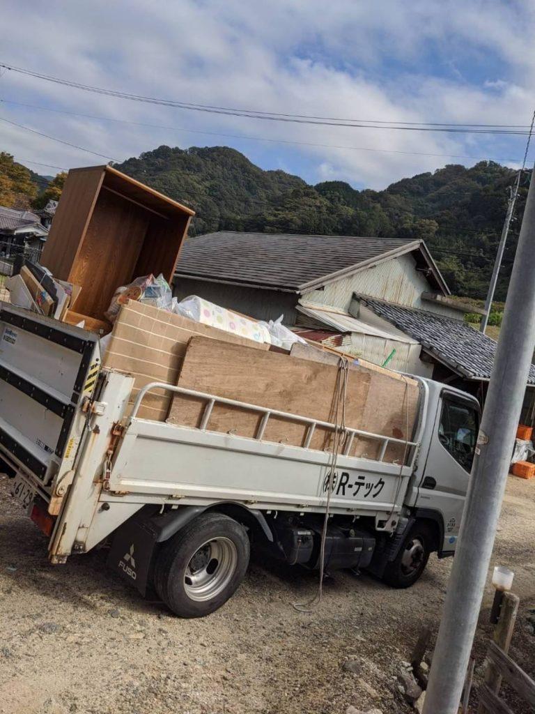 善応寺、引っ越しに伴う不用品回収