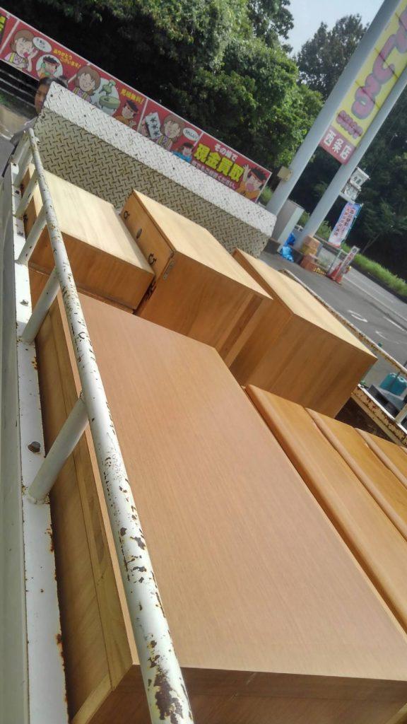 新居浜市でタンス2台の不用品回収