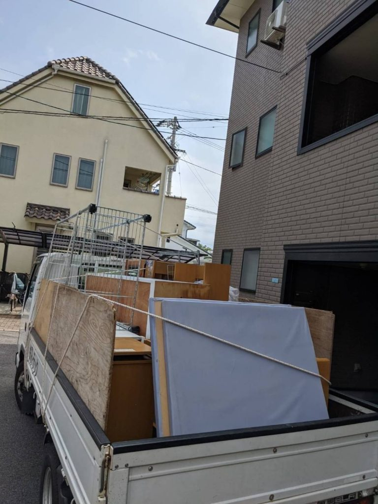 西石井、引っ越しに伴う不用品回収
