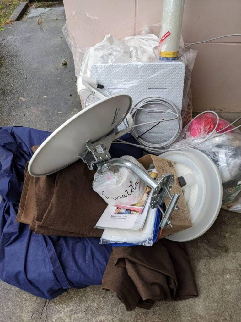 東温市、引っ越しに伴う不用品回収