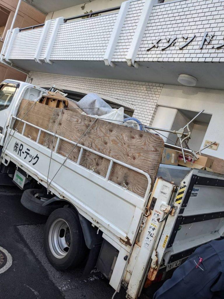 松山市和泉北、片付けに伴う不用品回収