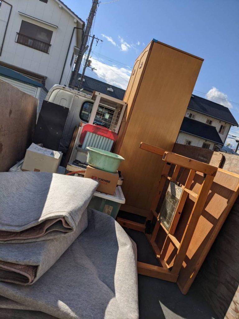 松山市拓川町、引っ越しに伴う不用品回収
