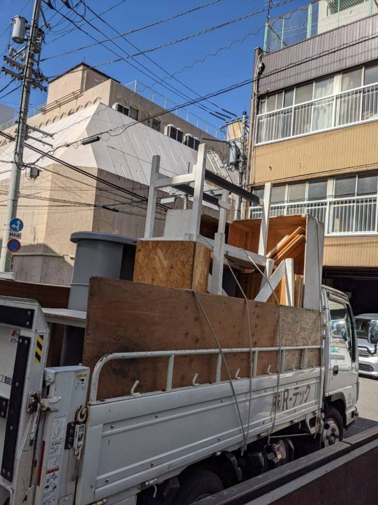松山市湊町、ブティックリニューアルOPENに伴う処分