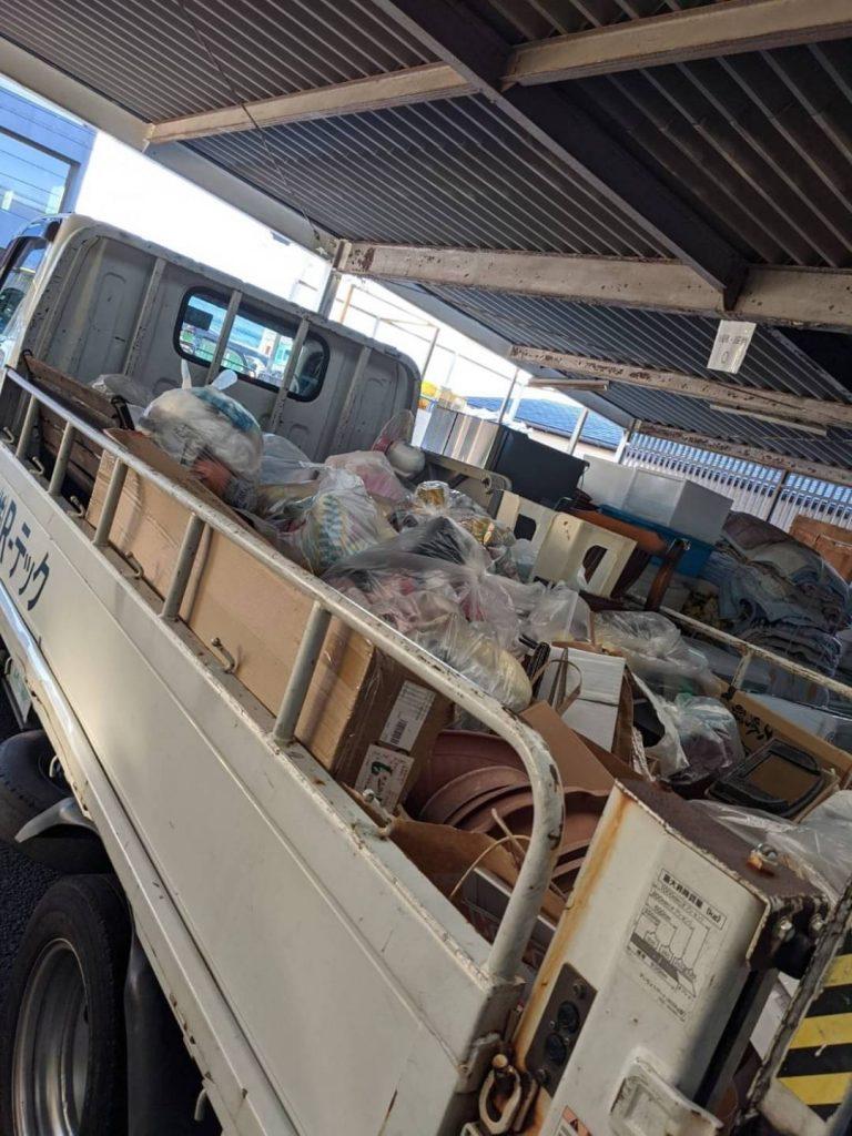松山市北井門、片付けに伴う不用品回収