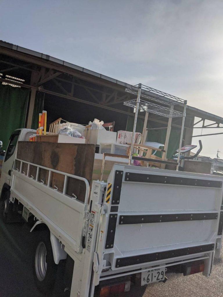松山市北条、引っ越しに伴う不用品回収