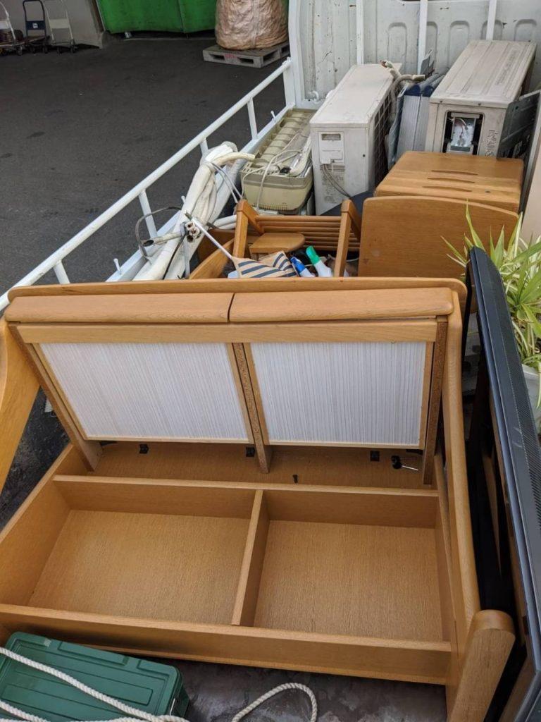 松山市道後、引っ越しに伴う不用品回収