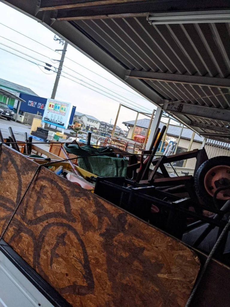 松山市山西町、片付けに伴う不用品回収