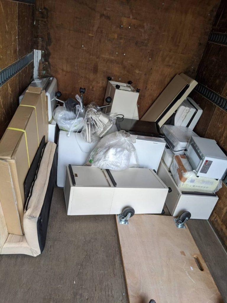 松山市河原町、引っ越しに伴う不用品回収