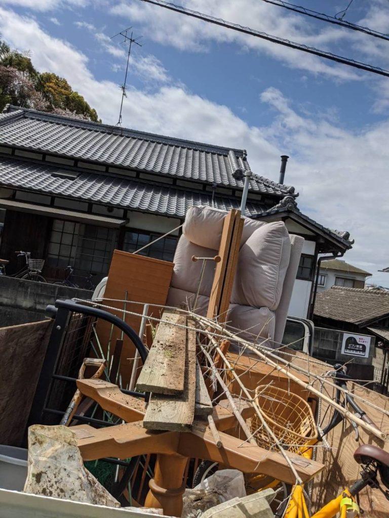 松山市溝辺町、引っ越しに伴う不用品回収
