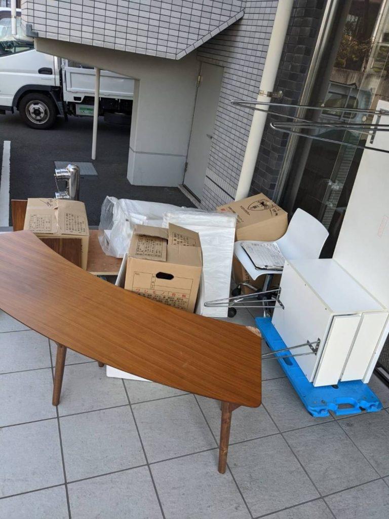 松山市小坂、引っ越しに伴う不用品回収