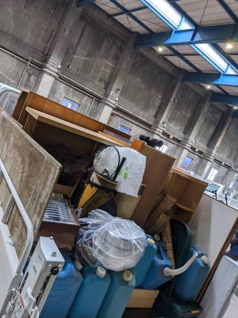 東温市南方、片付けに伴う不用品回収、リピート