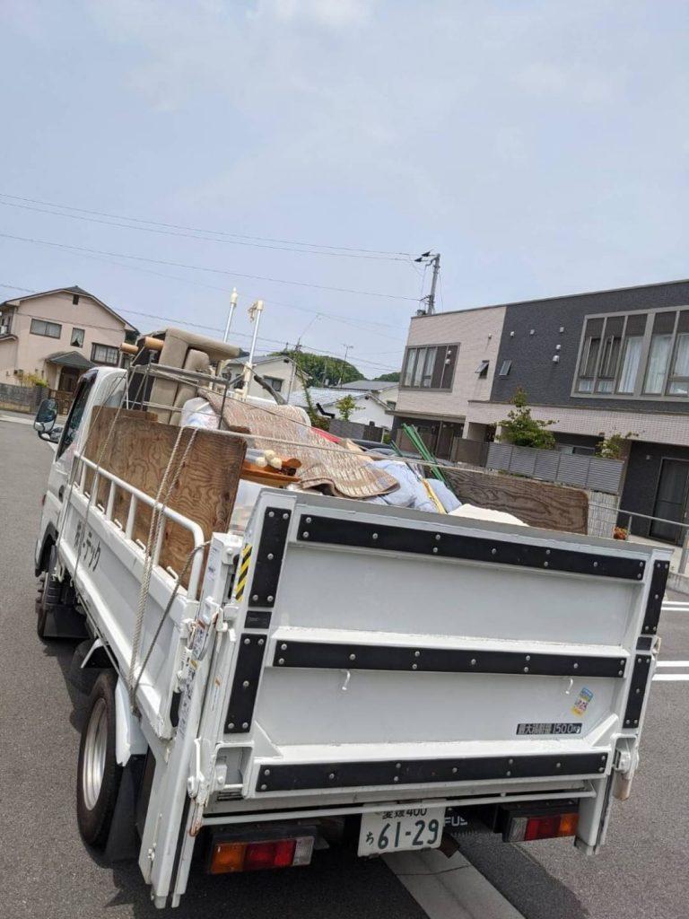 松山市南斎院、引っ越しに伴う不用品回収
