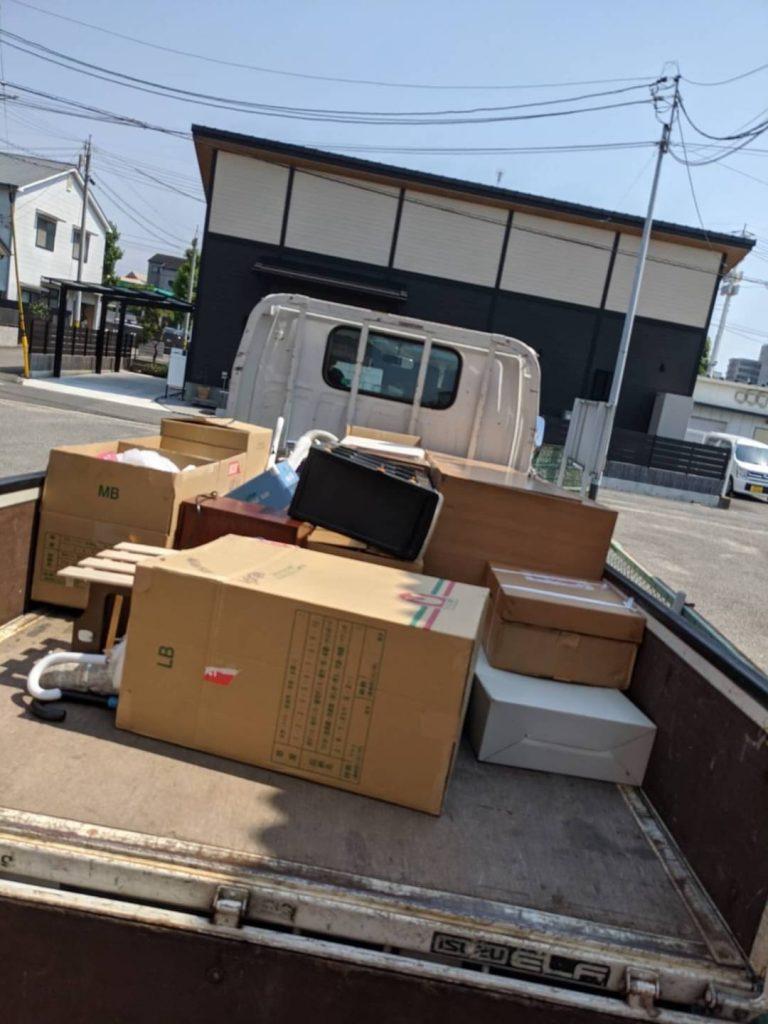 松山市南江戸、引っ越しに伴う不用品回収