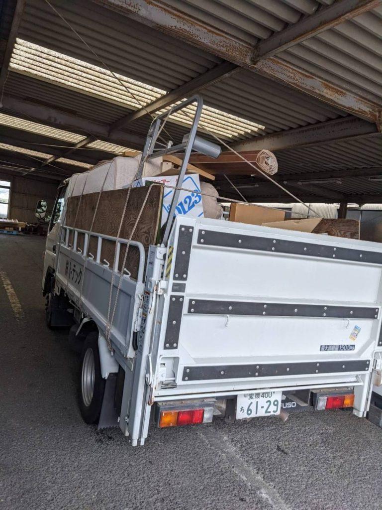 松山市星岡、引っ越しに伴う不用品回収