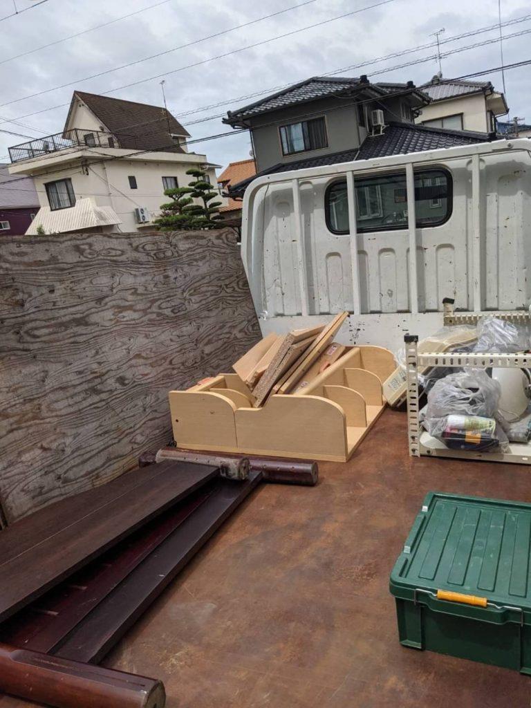 松山市、片付けに伴う不用品回収