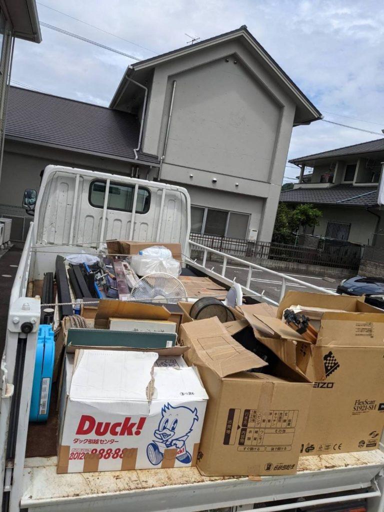 松山市、引っ越しに伴う不用品回収