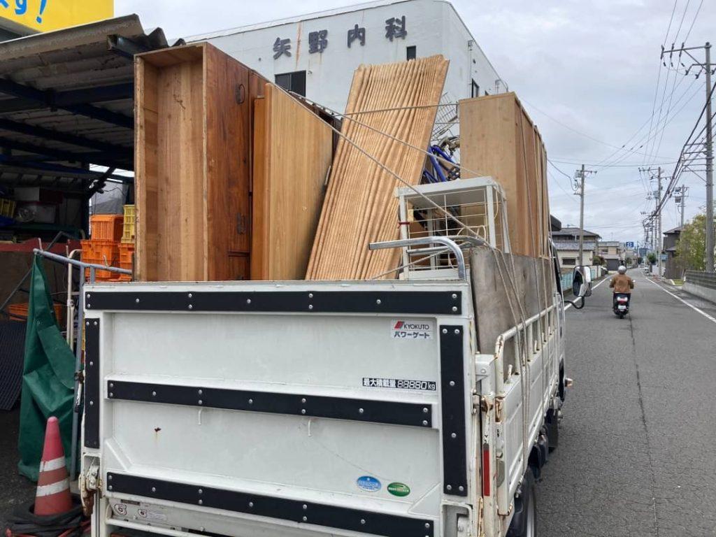 松山市、粗大ごみの回収