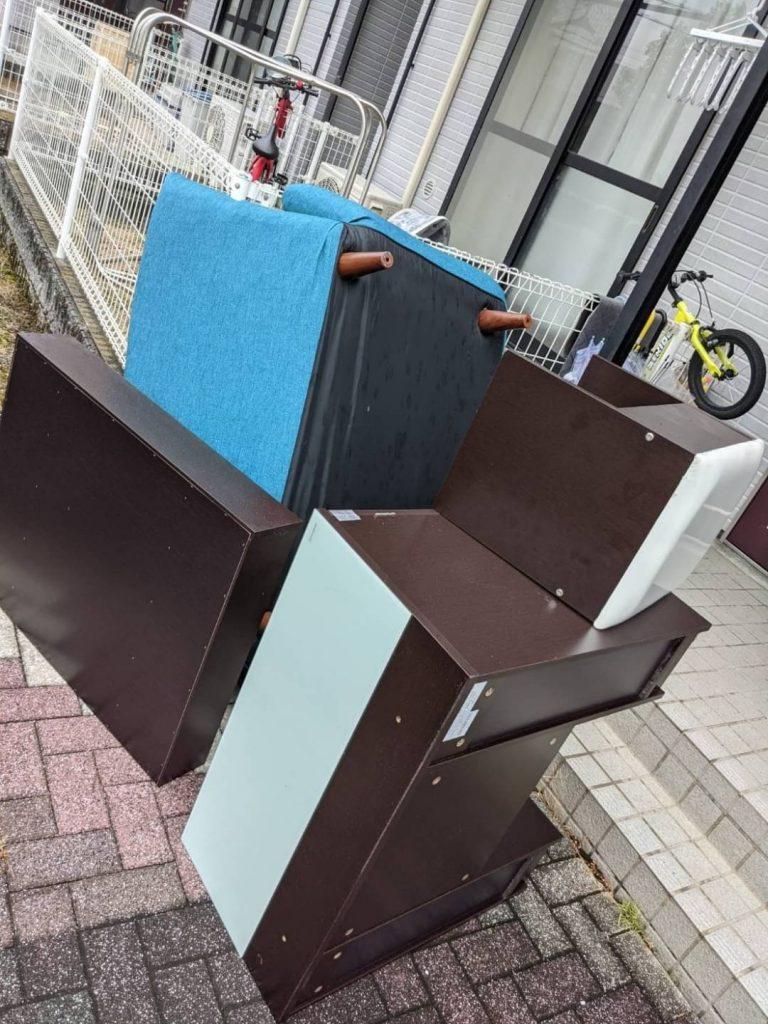 東温市、片付けに伴う不用品回収